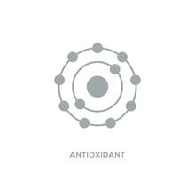 Antioxidant Vector Icon, Radic...