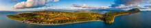 Aerial Panorama Of Lummi Islan...