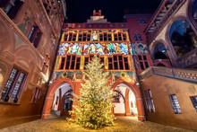 Christmas Tree At Town Hall Of...