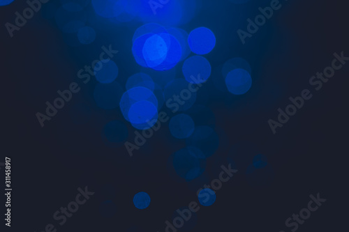 Fototapety, obrazy: blue bokeh use for background