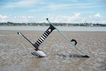 A Kitesurfing Hydrofoil Board ...