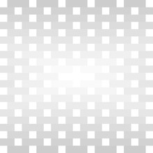 Gray Rectangles And White Squares Repeat Pattern Background. Abstract Geometric Cool Background Vector.