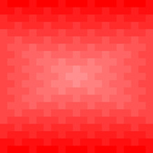 Red Rectangles And Squares Repeat Pattern Background. Abstract 3D Geometric Background Vector.