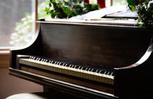 Antique Baby Grand Piano
