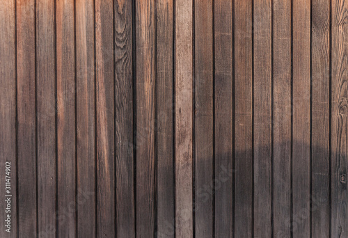 Fototapeta Old wood plank wall background obraz na płótnie