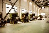 Fototapeta Perspektywa 3d - Abandoned Asian factory building