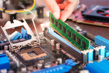 Engineers Are Placing The RAM ...
