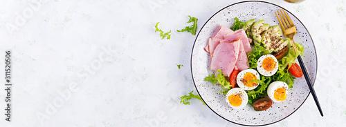 Fotografía  Ketogenic/paleo diet