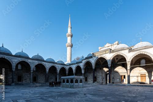 Stampa su Tela moschea sulimano il magnifico