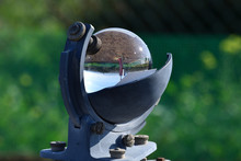 Weather Station And The Sun In...