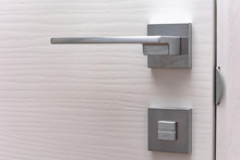 Modern Chrome Door Handle And ...