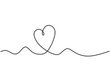Continuous One Line Drawing Of...