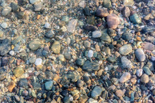 Colorful Rocks And Pebbles Und...