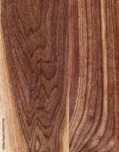 Brown Wood Grained Background