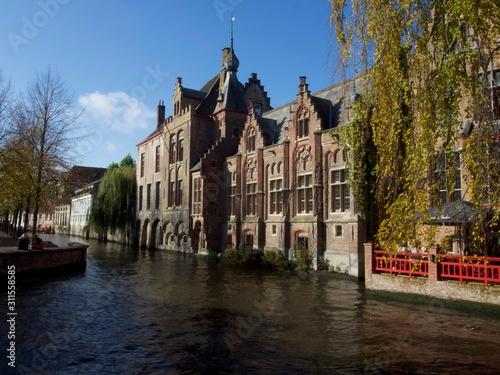 Obraz na plátně  Brujas, Bélgica