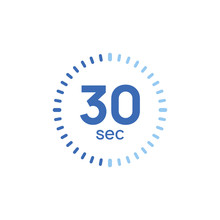 30 Second Timer Clock. 30 Sec ...