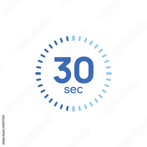Papel de parede 30 second timer clock