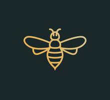 Bee Icon Vector Honey Logo Ill...