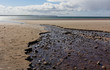 Dunnet Bay - stony trickle flow - II - Caithness- Scotland