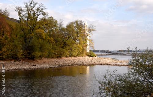 Photo Niedrigwasser, Rhein, Trockenheit
