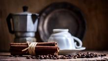 Cup Of Black Coffee, Coffee Po...