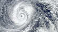 Eye Of The Hurricane. Hurrican...