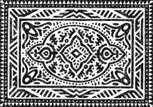 Carpet Black And White Pattern...