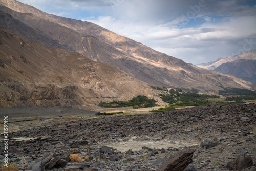 Canvas Print Nature in Wakhan Corridor in Afghanistan