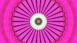 canvas print picture - Artistic bright decorative circles graphic background