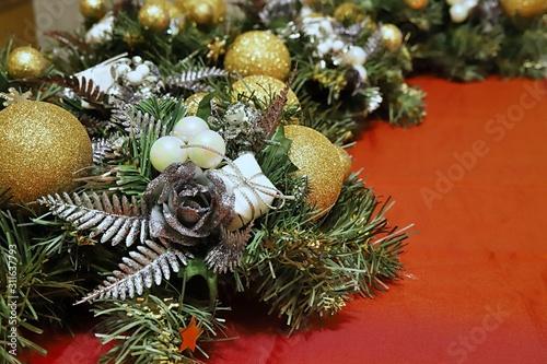Obraz Boże Narodzenie - fototapety do salonu