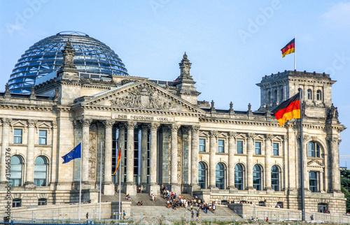 Reichstag, Deutschland, Berlin Wallpaper Mural