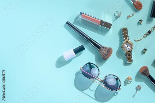Cuadros en Lienzo  Blogging Beauty Concept