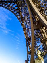 Paris, Eiffelturm, Tour Eiffel, Gustave Eiffel (1832, 1923), Fra