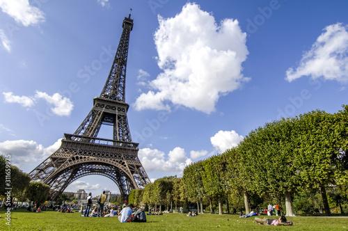 Paryż, Wieża Eiffla, Tour Eiffel, Francja