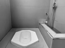 Interior Of Simple Bathroom
