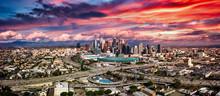 Los Angeles Panorama Freeways ...