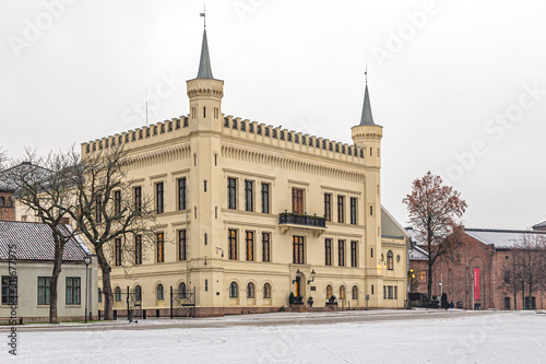 House of the commandant of Akershus fortress (Oslo) Canvas