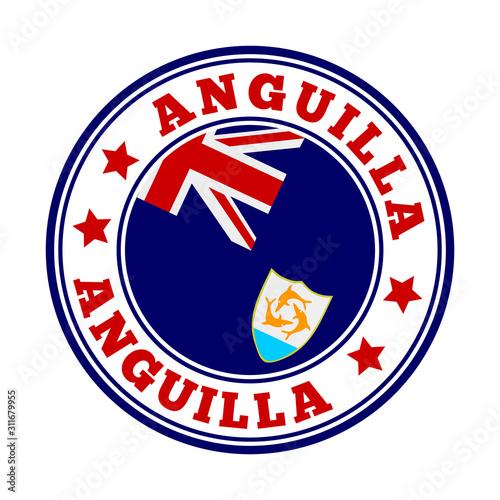 Anguilla sign Canvas Print