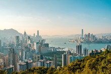 Hong Kong City Skyline , And K...