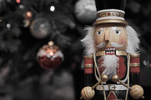 Wooden Nutcracker And Decorate...