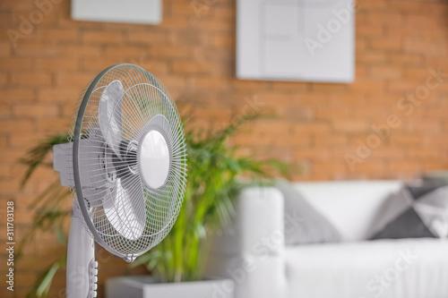 Fototapeta Modern electric fan in room obraz