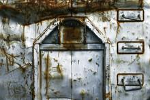 Old Door Of Steel, Sweden,stockholm,nacka,sverige,europe,eu