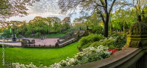 фотография Bethesda Terrace and Fountain