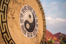 Yin Yang Chinese Drum