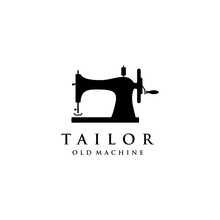 Tailor's Vector Logo Design. S...
