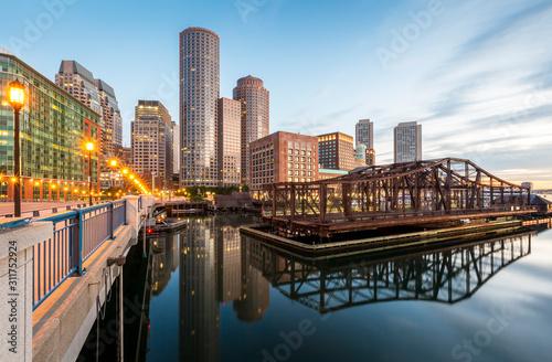 Fototapeta Boston in Massachusetts, USA