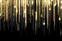 Sparkling Light Blurs Lines Of...