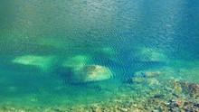 Reflecting Emerald Turquoise W...