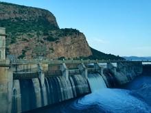 Dam Overflow Gate Opened