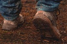 Shoes Dirt Shoes Tourism Walki...